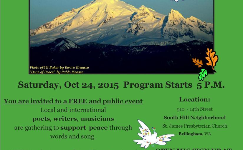 Event: Read-In World Peace Poets