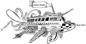 makeshift radio bus logo