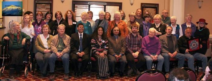 world peace poets Feb 2015 group, Bellingham, WA