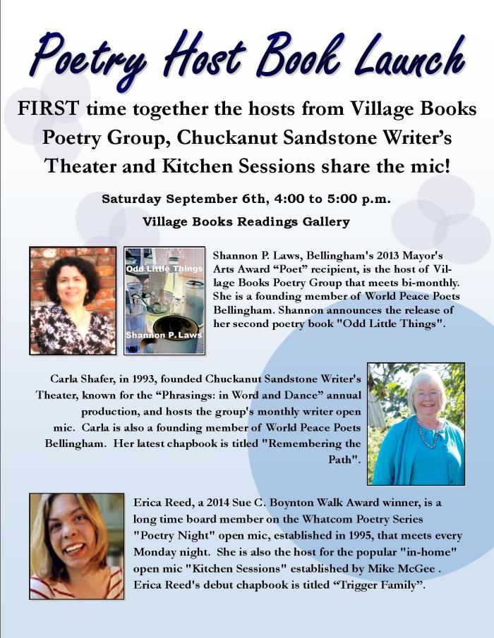 3 poets Launch sept 2014_SLaws