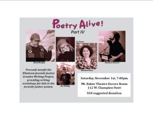 JV poetry fundraiser
