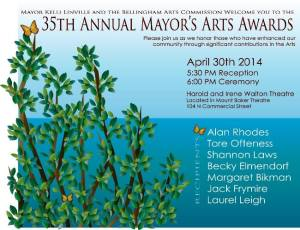 mayorsartaward poster