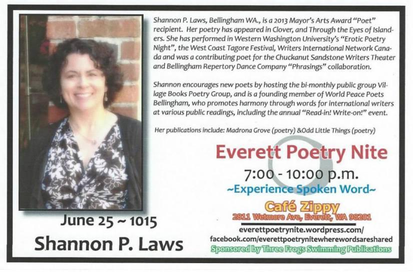 Event: Poetry Reading