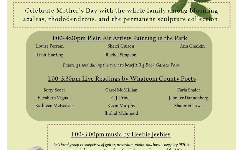 Event: Mother's Day Celebration Big Rock Garden
