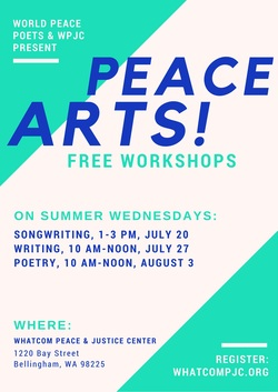 Event:  Peace Arts Workshops
