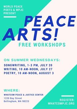 Event:  Peace ArtsWorkshops
