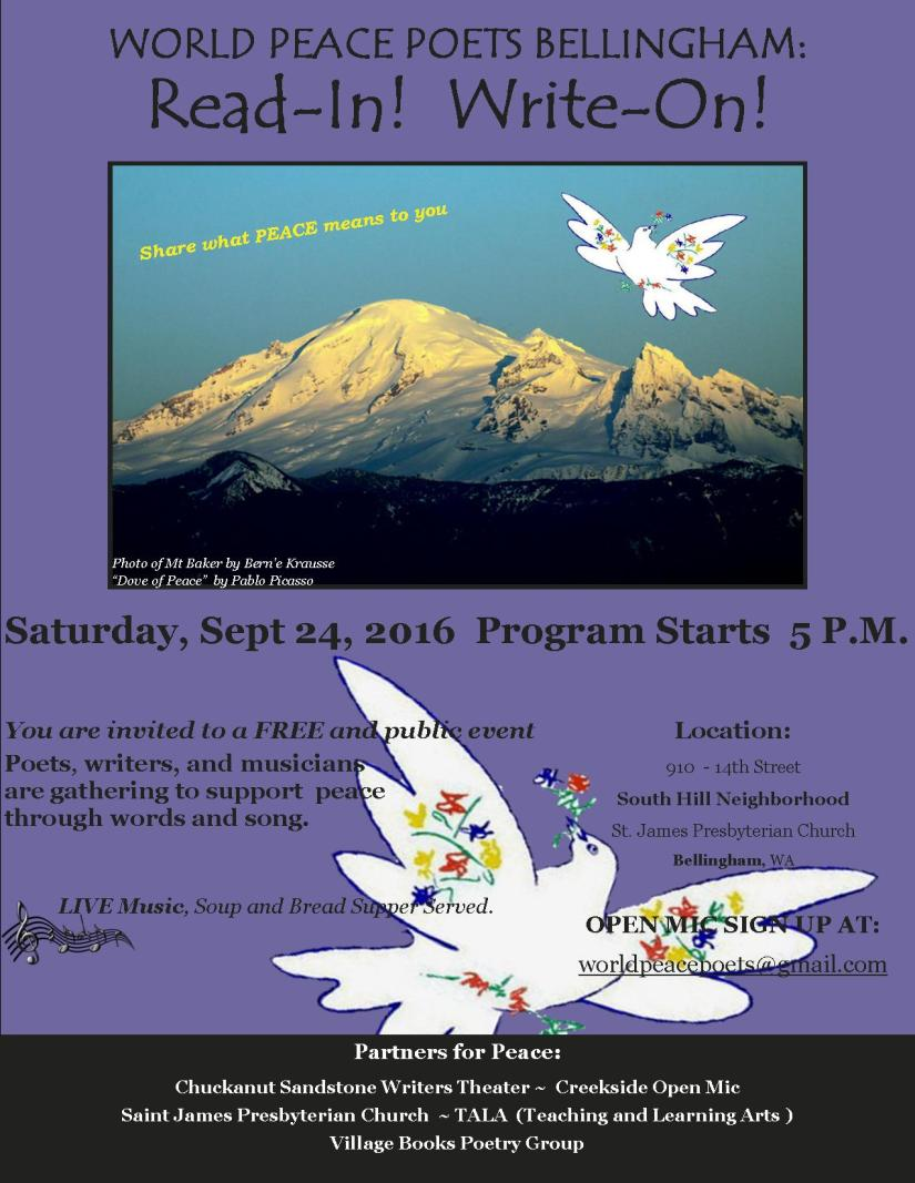 Event: 2016 Read-In forPeace