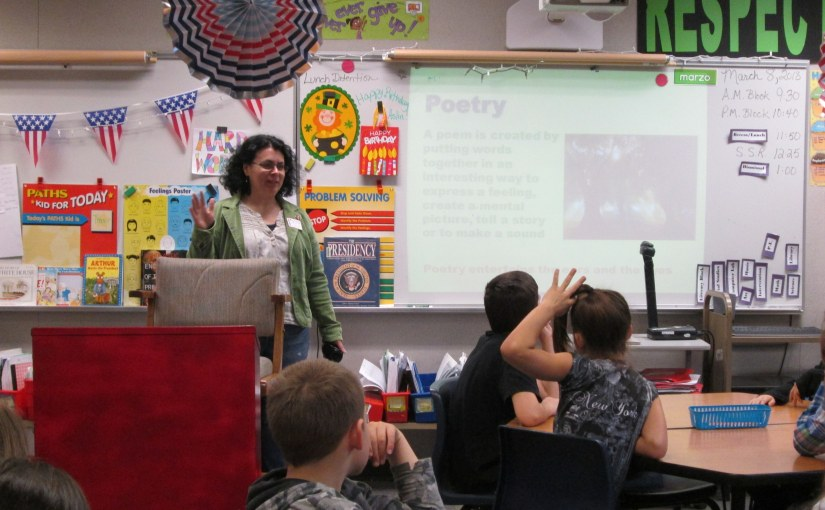Sharing Poetry at KendallElementary